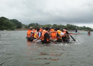 Team Building, Adventure, Raft Building